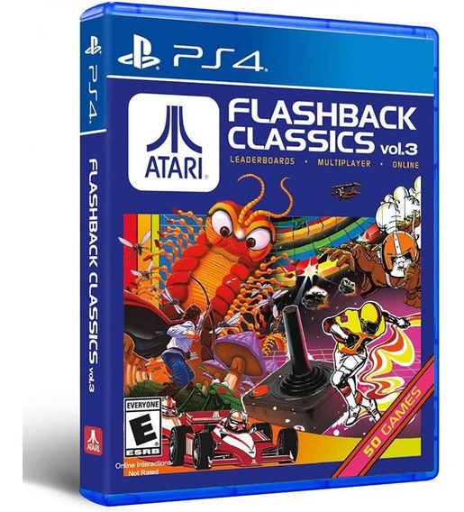 Atari Flashback Classics Volume 3 Ps4 Mídia Física Novo