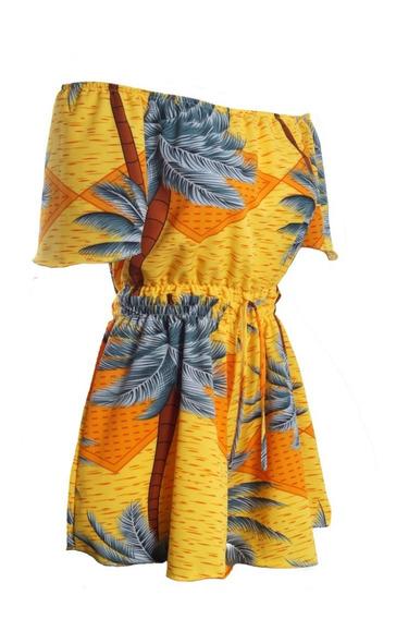 Vestido Roupas Femininas Ciganinha Primavera Floral #085