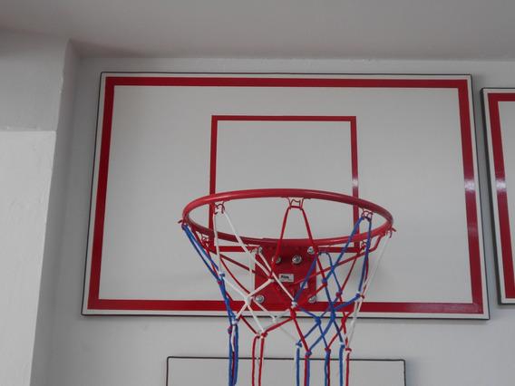 Aro De Basket Profesional Y Tablero 105 X 68 Cm. Tissus