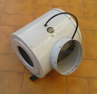 Motor Campana De Cocina Doble Turbina Plástica 6 /15cm - Mcg