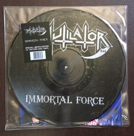 Lp Mutilator - Immortal Force / Picture