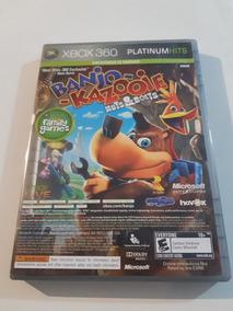 Banjo Kazooie E Viva Pinara Xbox 360 Original Mídia Física