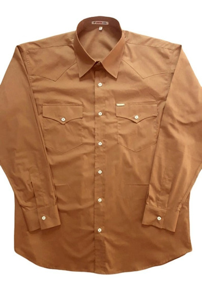 Camisa Premium Laredo Country Slim Fit Manga Longa 2 Bolsos