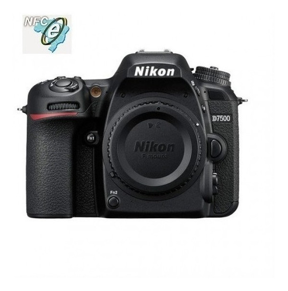 Nikon D7500 20,9mp Sensor Dx Vídeo 4k/uhd Corpo Nota Fiscal