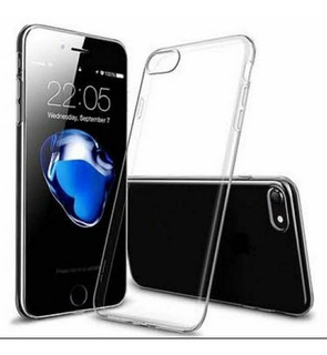 Capa Incolor Tpu Para iPhone 7 8 Plus Silicone Maleavel