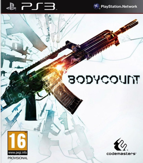 Jogo Mídia Física Bodycount Para Ps3 Playstation 3