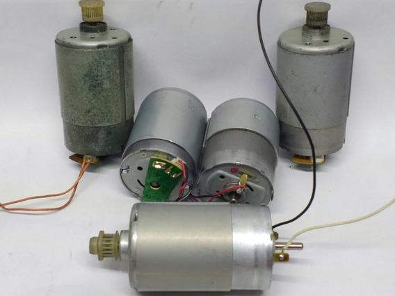 Micro Motor 12v De Impressoras Marcas Variadas
