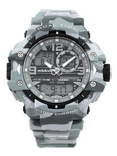 Reloj Mistral Camuflado Dual Time Gadg13614cm08