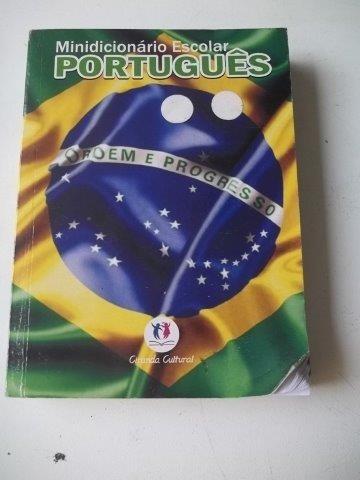 Livro Minidicionários Escolar Português - Ciranda Cultural