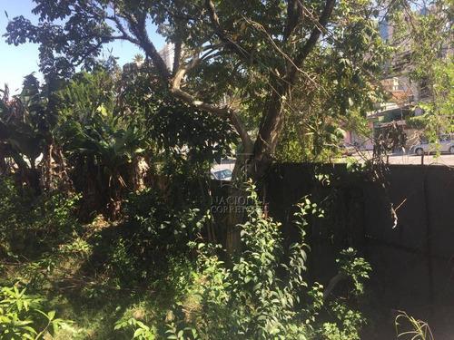 Terreno À Venda, 227 M² Por R$ 700.000,00 - Parque João Ramalho - Santo André/sp - Te1068