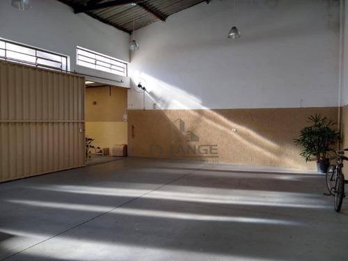 Salão Para Alugar, 160 M² Por R$ 2.800,00/mês - Jardim Do Lago - Campinas/sp - Sl0827