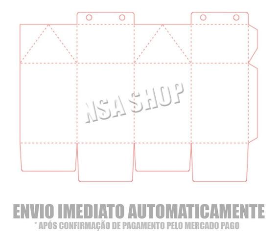 Arquivo Molde Silhouette Caixa Milk Pronta Para Personalizar