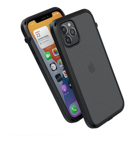 Protector Carcasa iPhone 12 Pro Max Catalyst Influence Black