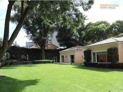 Casa En Venta, 900 M Jardín ,un Nivel, En Jardines Del Pedregal