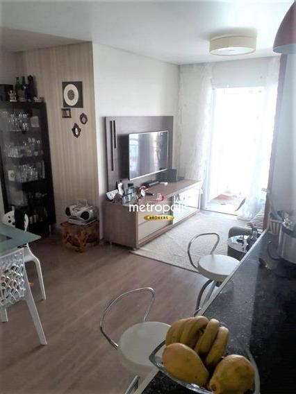 Apartamento Com 3 Dormitórios À Venda, 83 M² Por R$ 595.000,00 - Centro - São Caetano Do Sul/sp - Ap2228