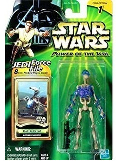 Battle Droid Boomer Damage - Power Of The Jedi - Star Wars