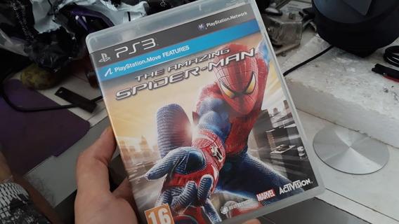 The Amazing Spider Man Jogo Original Ps3 Mídia Física