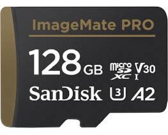 Cartão Microsd 128gb Extreme Pro A2 4k 170mb Imagemate