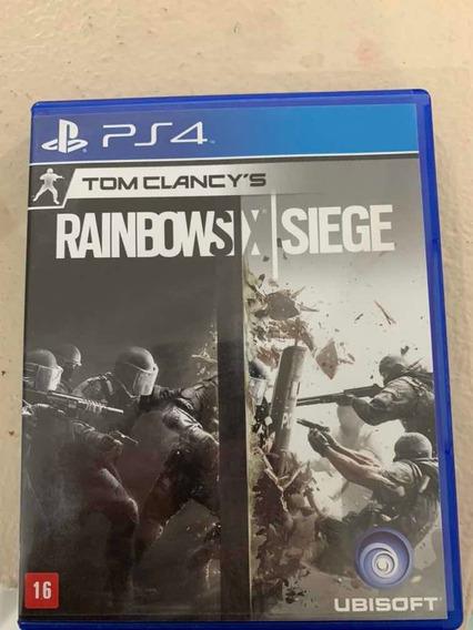 Tom Clancys Rainbow Six Siege Ps4 Mídia Física Seminovo