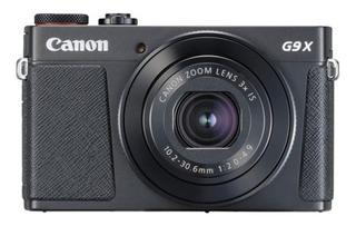 Canon PowerShot G9 X Mark II compacta color negro