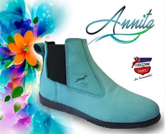 Zapatos Dama Botin Frazzani Sport Modelo Anita Talla 35