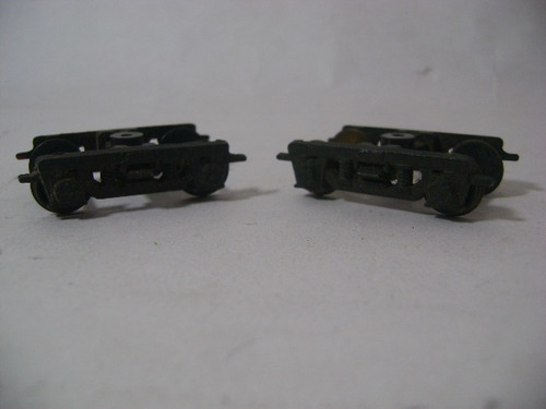 Nico 2 Bogg Metal Pasajeros C/ R Metal S/aislar H0 (rbh 41)
