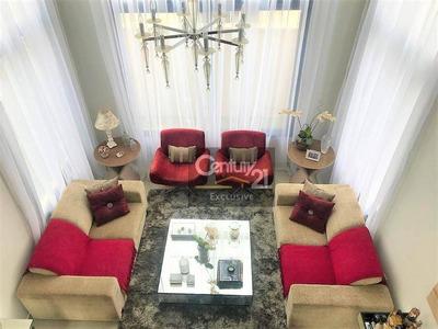 Casa Residencial À Venda, Jardim Dos Lagos, Indaiatuba - Ca0105. - Ca0105