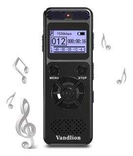 Grabadora De Voz Vandlion 8gb Grabadora De Sonido De Aud