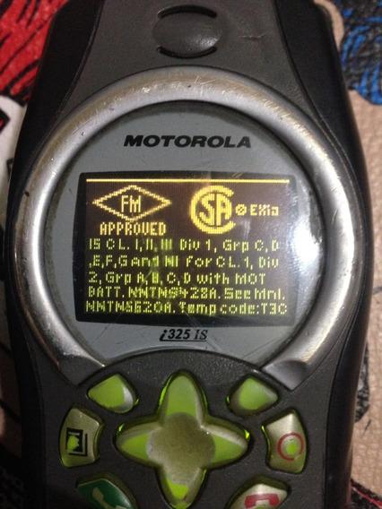 Handy Radio I325 Antiexplosivo Con Sello Verde I325is Fm Ap