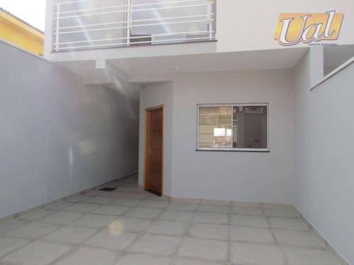 Imagem 1 de 26 de Sobrado À Venda, 96 M² Por R$ 530.000,00 - Jardim Alvinópolis - Atibaia/sp - So1161