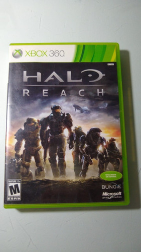 Halo Reach Xbox 360 Lenny Star Games