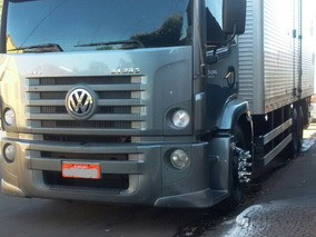 Volkswagen Vw 24280 6x2 Com Baú 2014