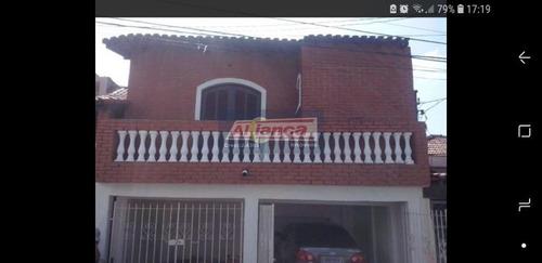 Sobrado Para Venda No Bairro Jardim Do Papai Em Guarulhos - Cod: Ai11691 - Ai11691