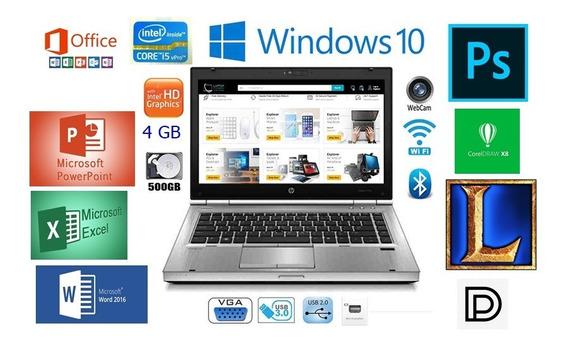 Notebook Corporativo Elitebook Core I5 V Pro Bateria Nova !!