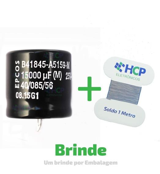 Capacitor Eletrolítico 15000uf 25v *15.000uf Epcos Promoção