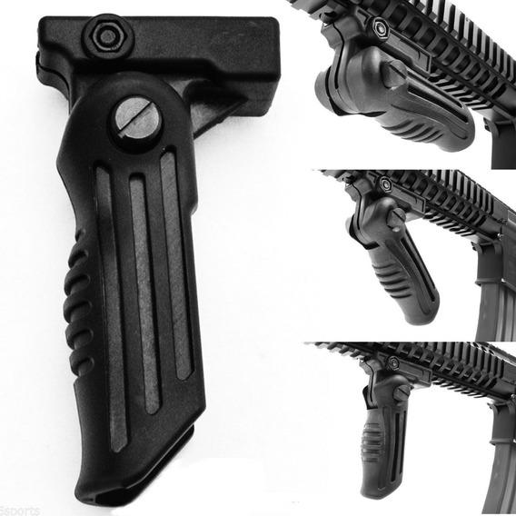 Grip Empuñadura Riel Picatinny De 2 Posiciones Tactico Rifle
