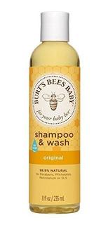 Burts Bees Baby Bee Original Shampoo Y Wash 8 Oz