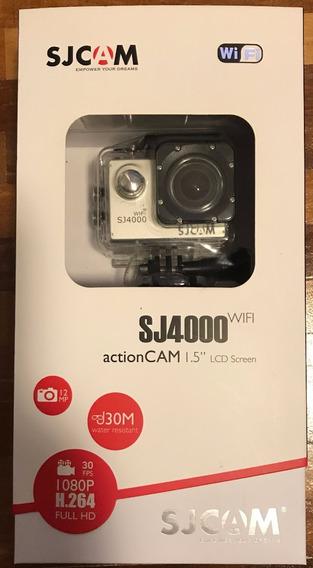 Sjcam 40 Wifi Original + Bastão Selfie Sjcam Original