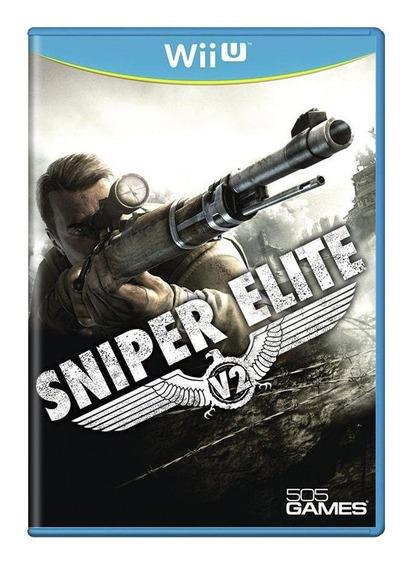 Sniper Elite V2 Wii U Mídia Física Pronta Entrega
