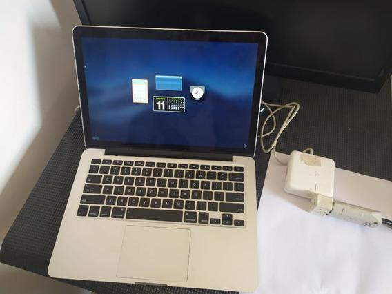 Macbook Pro 13 Polegadas (late 2013) Retina 128ssd 4gb I5