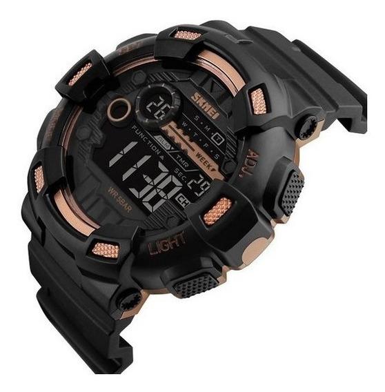 Relógio Masculino Militar Esportivo Shock Skmei Origina