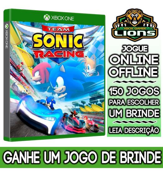 Team Sonic Racing Xbox One + Brinde