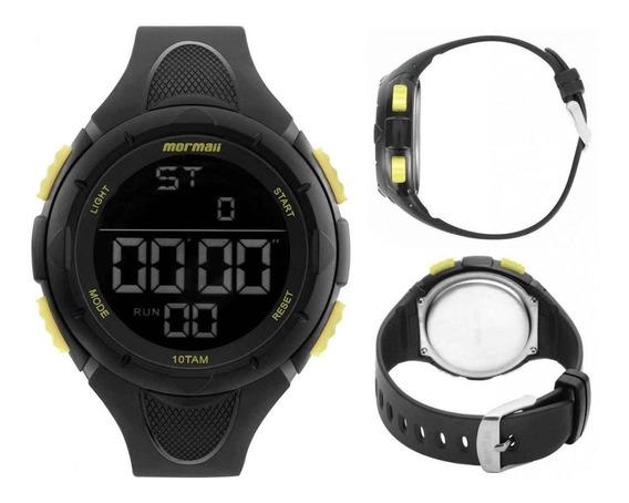 Relógio Masculino Mormaii Wave Esportivo Preto Mom14810aa/8y