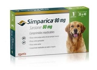 Simparica 20-40 Kg Antiparasitario Externo Perro | Mundozoo
