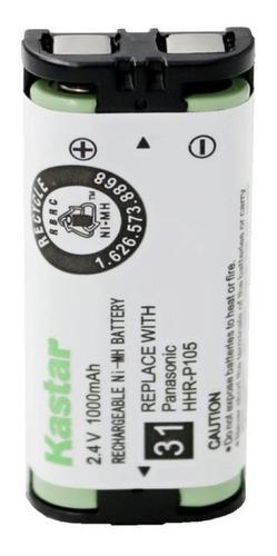 Bateria De Telefono Panasonic Hhr-p105 2.4v 1000mah