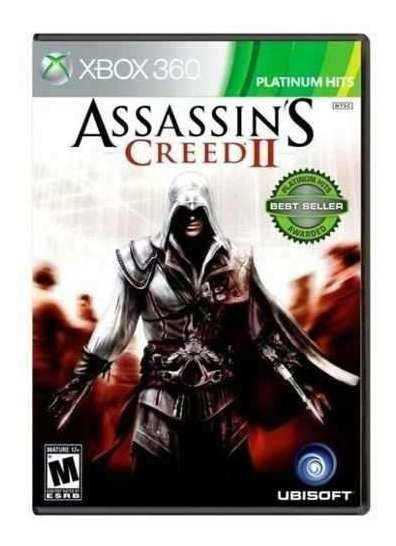 Assassins Creed 2 Xbox 360 Original Frete R$12