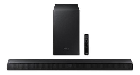 Soundbar Samsung Hw-t550 2.1 Canais 320w S/ Fio Bluetooth