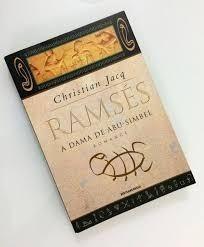 Livro Ramsés A Dama De Abu-simbel