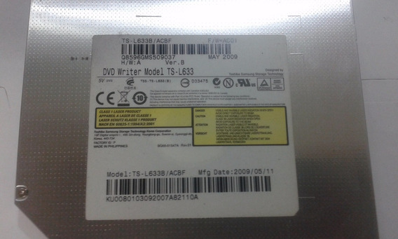 Dvd Rw Modelo Ts-l633 Notebook Acer Aspire 4535 Series