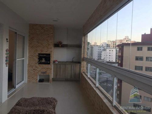Apartamento Com 3 Dorms, Guilhermina, Praia Grande - R$ 750 Mil, Cod: 8772 - V8772